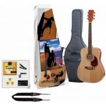 Tenson Westerngitarre Starter-Set  Bild 1