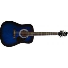 Stagg SW201 Akustik Westerngitarre blau Bild 1
