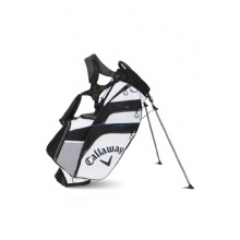 Callaway Fusion 14 Hybrid Golf Stand Bag Weiss Schwarz Bild 1