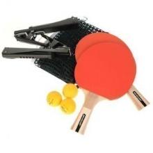 DUNLOP Tischtennis Set Ping-Pong Schläger Netz Bälle Bild 1