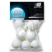 Sunflex Tischtennisb�lle HOBBY, 20802 Bild 1