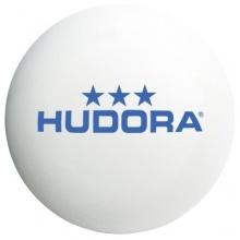 Hudora 76275 - Tischtennisbälle, 6 Stück, weiß Bild 1