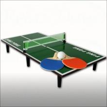 Mini Tischtennis-Set mit Tischtennisplatte von Relaxdays Bild 1