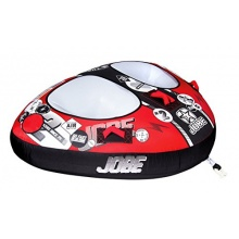 Jobe Double Trouble Star Towable Tube red Bild 1