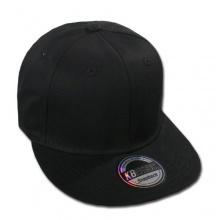 Ethos USA Snapback Baseball Cap 2-Tone Black/Black Bild 1