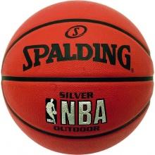 Spalding Herren Basketball NBA Silver Outdoor Bild 1