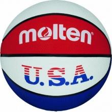 Molten Basketball BC7R-USA, BLAU/WEISS/ROT, 7 Bild 1