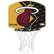 Spalding Basketballkorb Miniboard Miami Heat Bild 1