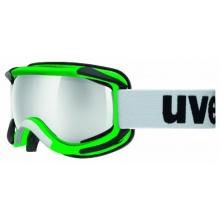 UVEX Snowboardbrille Sioux neongreen black matt Bild 1