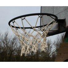 LHS Basketballkorb Basketballnetz 5mm,12 Loch Bild 1