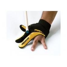 Handschuh Predator, 3-Finger, schwarz-gelb, GR.S,M Bild 1