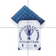 Silver Cup Billardkreide, Blau, 144Stück Bild 1