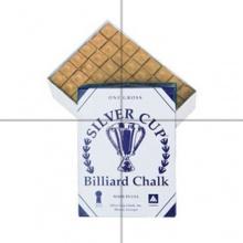 Billardkreide Silver Cup Kreide, Braun, 144 Stück Bild 1