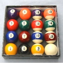 Pool Billard Kugelsatz 57,2 mm von IMPI Sports Bild 1