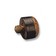 Schraub-Leder 12 mm Queupomeranzen von Billardscene Bild 1