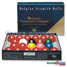 Snooker Kugeln 52,4 mm Aramith Tournament Champion Bild 1