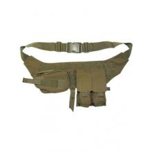 Brustgurt mit Pistolenbeinholster Coyote von Militär Bild 1