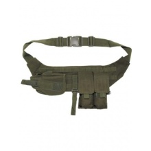 Brustgurt mit Pistolenbeinholster von Militär Bild 1