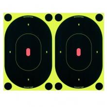 Birchwood Casey Shoot-N-C 7 Oval Tgt 12pk Zielscheibe Bild 1