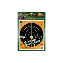 Caldwell Ornge Peel Bulls-Eye 8 Zielscheibe (5) Bild 1