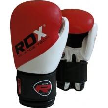 RDX Maya Leder Boxhandschuhe MMA Kampf Sandsack  Bild 1