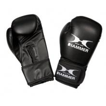 Hammer Kinderboxhandschuhe Blitz, Schwarz, 8 OZ Bild 1
