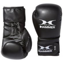 Hammer Boxhandschuhe Premium Training, Schwarz, 14 OZ Bild 1