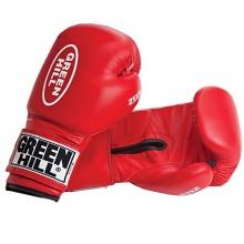 GreenHill Erwachsene Boxhandschuhe Zees, Rot, 12 oz Bild 1
