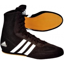 adidas Boxschuhe BOX HOG 2 Gr. 6 (38) schwarz weiß Bild 1