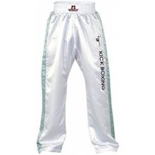 DANRHO Kampfsport Hose Kickboxing, Weiß/Grau 180 cm Bild 1