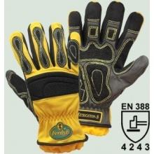 FerdyF. Extrication-S Kletterhandschuhe gelb Bild 1