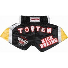 TOP TEN Kickbox Kampfsport Shorts Kickboxing Gr. 170cm Bild 1