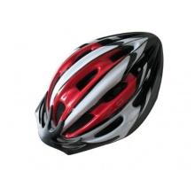 Profex Erwachsene Fahrradhelm rot/weiß S/M 52-58 cm Bild 1