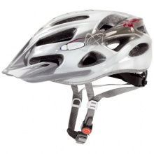 Uvex Onyx Damen Fahrradhelm Gr. XXS-M 52-57cm Weiß-Rot Bild 1
