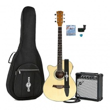 Single Cutaway Linkshänder Akustikgitarre Bild 1