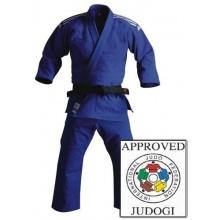 Judo Kampfsportanzug adidas Champion IJF blau 165 cm Bild 1