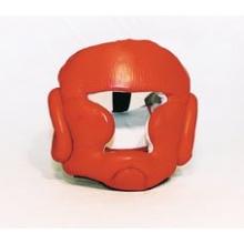 Budoten Kampfsport Kopfschutz rot mit Jochbeinschutz S Bild 1