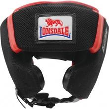 Londsdale Kopfschutz M-Core, Black/Red/White, M Bild 1