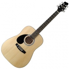 Stagg 25018988 SW201  LH N Dreadnought Akustik Gitarre Bild 1