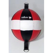 Orkansports Schlagbirne Kickball Punchingball LEDER Bild 1