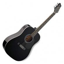STAGG Westerngitarre SW201BK Bild 1