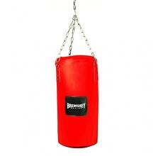 Bremshey Box- Punchingsack Mini, rot / schwarz, 60 cm Bild 1
