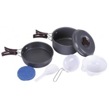 fox outdoor campinggeschirr aluminium grau test. Black Bedroom Furniture Sets. Home Design Ideas