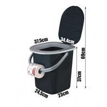 BranQ 1306 Reise WC Toilette Campingtoilette Eimer 22L Bild 1