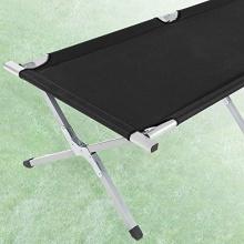 TecTake XL Feldbett Campingbett belastbar bis 150 kg Bild 1