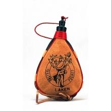 Laken Leder-Feldflasche Nieren-Form PK500- C Bild 1
