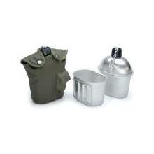 US Army Style Outdoor Alu Feldflasche von A.Blöchel Bild 1