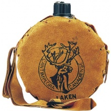 Laken Alu-Feldflasche mit Lederhülle Canadiense 1,0l Bild 1