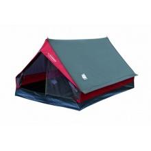 High Peak Zelt Minipack, grau/rot,First-Zelt  Bild 1