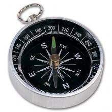 Kompass mit 4,4 cm - Aluminium von LeaLuc Bild 1